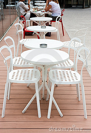 Outdoor cafe leisure