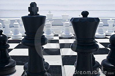 Outdoor Chessboard