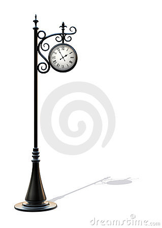 Free Outdoor Clock 2 Stock Photography - 9078292