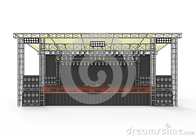 Outdoor Concert Stage
