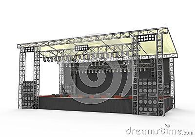 Outdoor Concert Stage