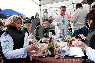Outdoor Cooking Championship Editorial Image