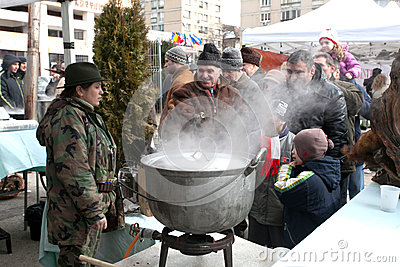 Outdoor Cooking Championship Editorial Stock Photo