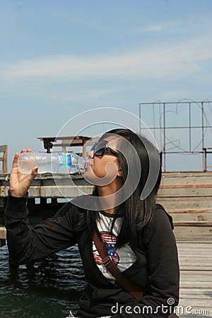 Outdoor drinking water