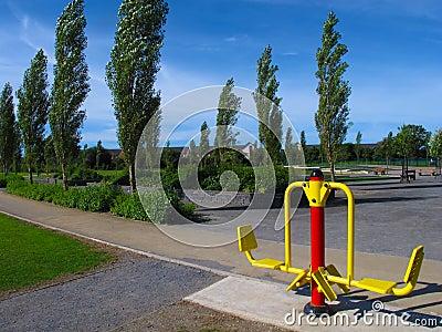 Outdoor Exercise Machine
