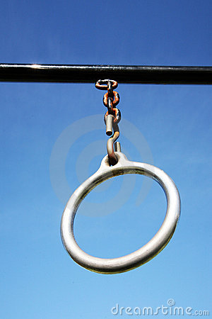 Outdoor exercise ring