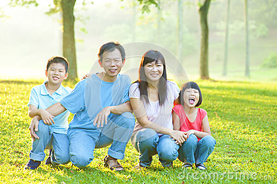Outdoor family