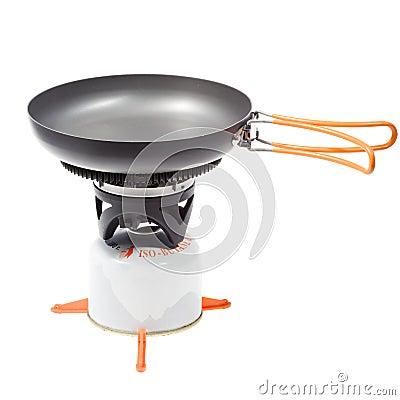 Outdoor fry pan