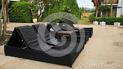 Outdoor furniture for relax