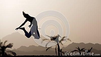 Outdoor jump