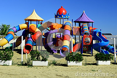 Outdoor Kids Play Ground area