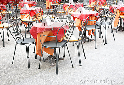 Outdoor restaurant