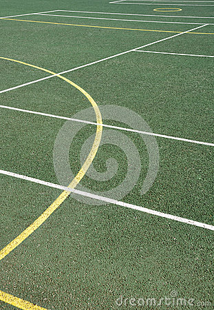 Outdoor sports surface