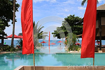 Outdoor Swimming pool by the beach