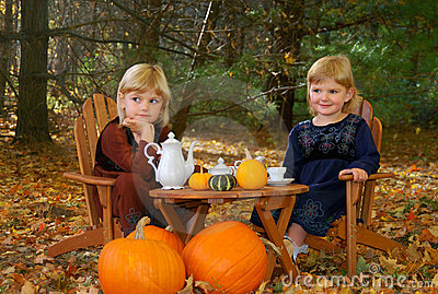 Outdoor Tea Party Stock Photos - Image: 2784233