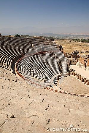 Free Outdoor Theater At Hierapolis Turkey Stock Photo - 17774160