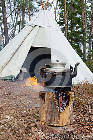 Free Outdoor Water Cooking Royalty Free Stock Photography - 30805567