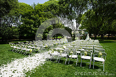 Outdoor wedding Scene