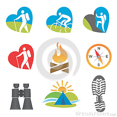 Outdoors_activity_icon_set