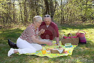 Outdoors picnic