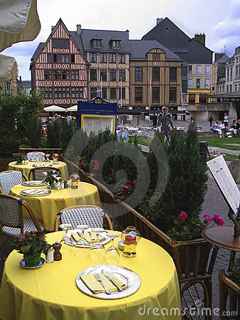 Outdoors restaurant