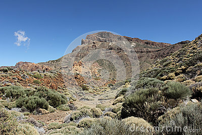The outer caldera of El Teide