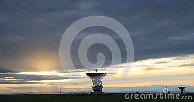 Outer-space communication locator
