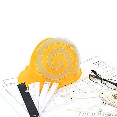 Outil d 39 architecte photo stock image 42662947 for Outils architecte