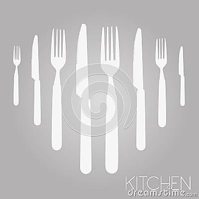 Outil de cuisine illustration de vecteur image 60766549 for Outil de conception cuisine