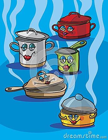 Outils de cuisine photographie stock image 18907652 - Outil de cuisine liste ...