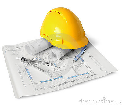 Outils de plan de construction image stock image 22316531 for Outil de construction