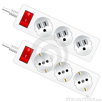 Outlet electrical sockets