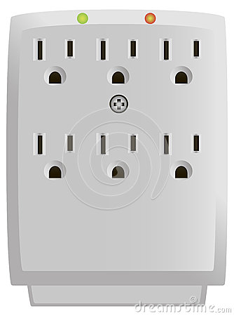Outlet Wall-Mount Surge Protector