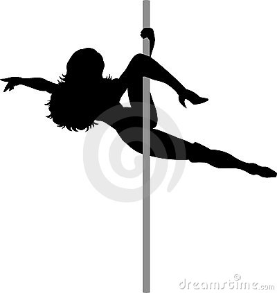 Free Outline Of An Exotic Dancer Stock Photos - 14232163