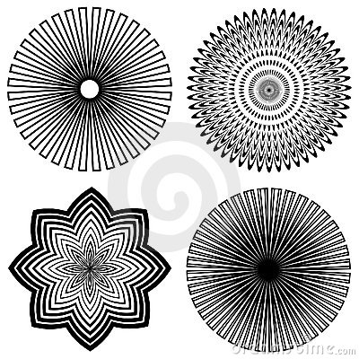 Outline Spirals