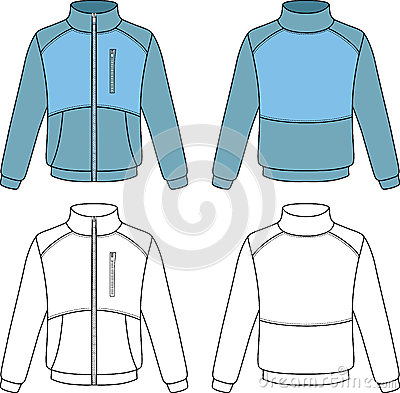 Outline sports jacket