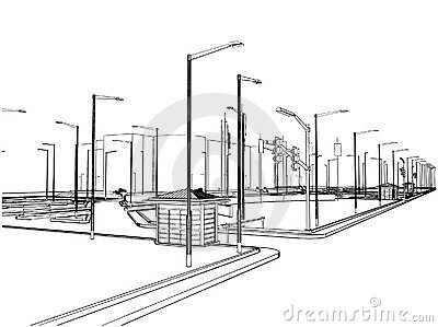 Outside Parking Vector 01