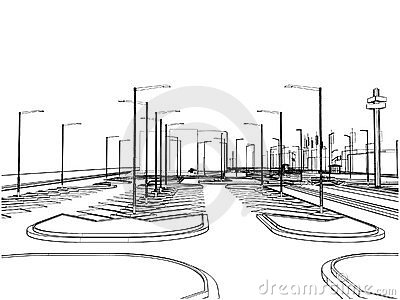 Outside Parking Vector 02
