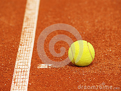 Tennis court line with ball (56)