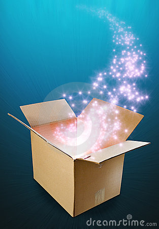 Free Outside The Box Royalty Free Stock Photography - 21990057