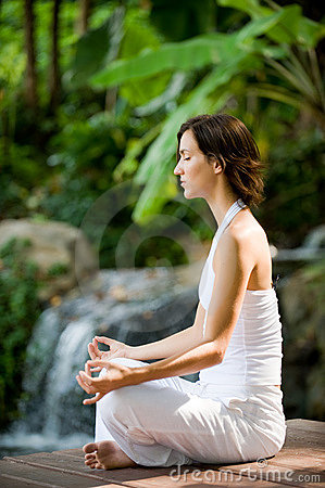 Free Outside Yoga Royalty Free Stock Photos - 4896858