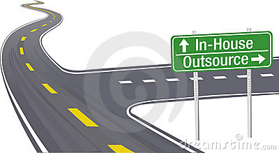 Outsource InHouse business supply chain decision
