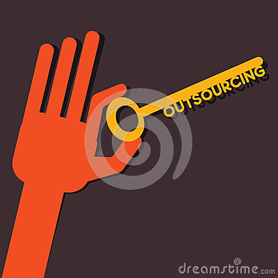 Outsourcing word key