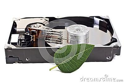 Ouvrez l unité de disque dur