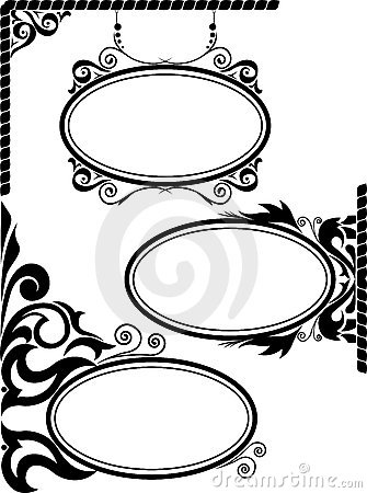 Free Oval Frames Stock Image - 19438691