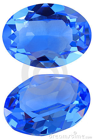 Oval gem