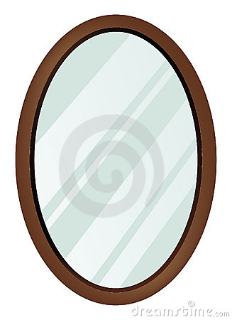 Free Oval Mirror Stock Image - 15096151