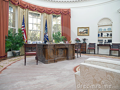 Oval Office Editorial Photography