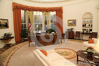 The Oval Office Editorial Stock Image