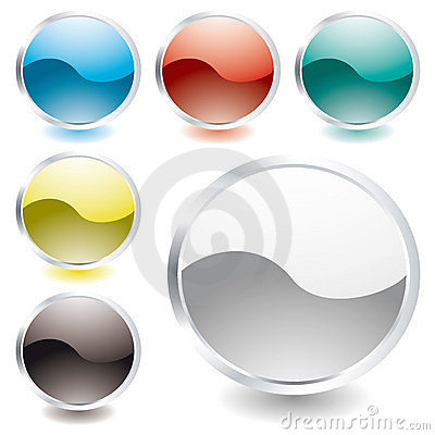 Oval shine icon